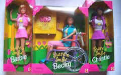 Barbie discapacidad.