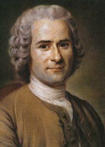 Retrato que le hicimos a Rousseau durante La Entrevista Improbable