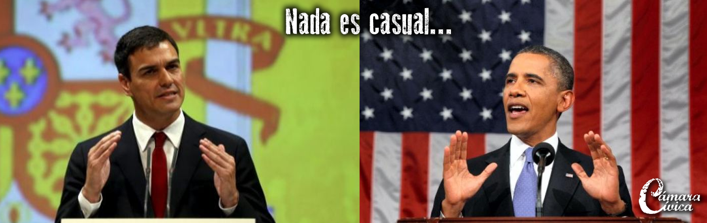Pedro Sánchez imita la estrategia de Barack Obama