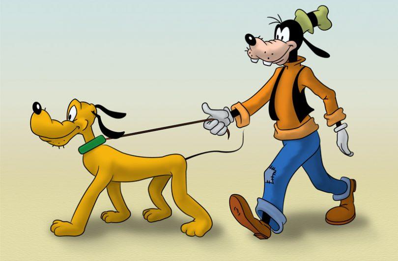 Goofy y Pluto