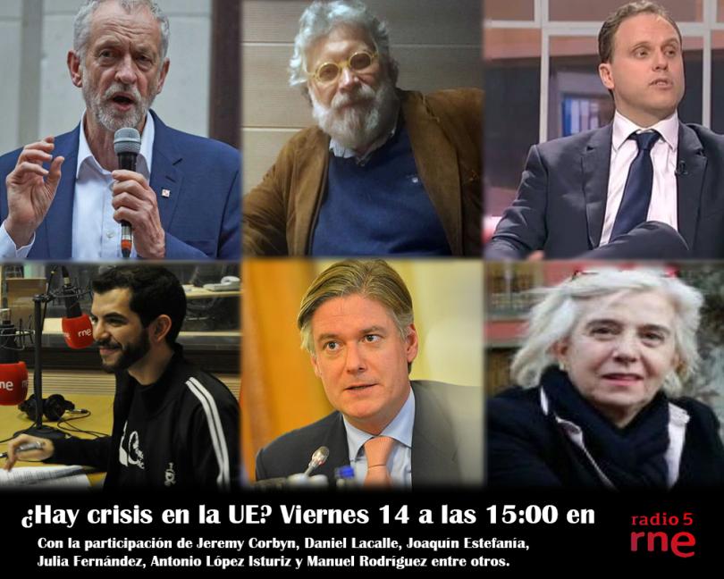La crisis de la Unión Europea En Radio 5 (RNE)