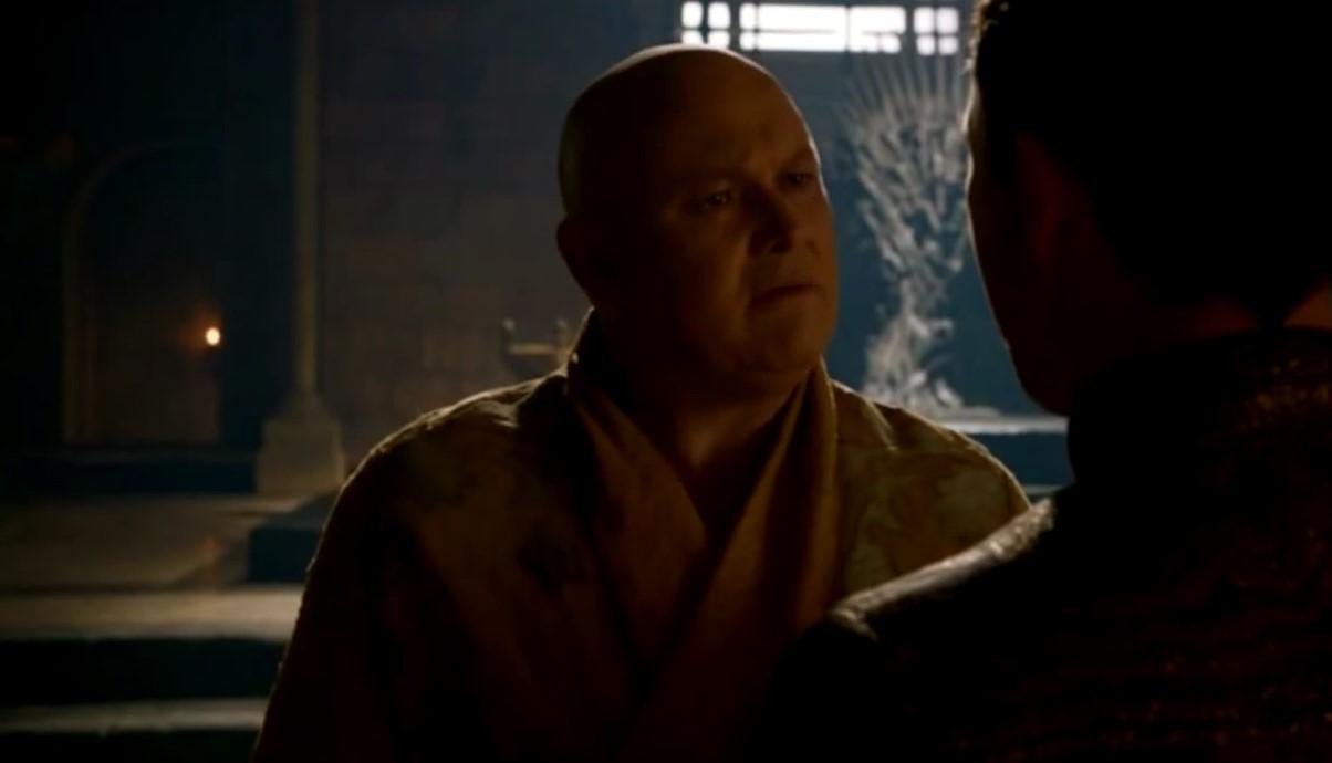Varys y Petyr Baelish en Juego de Tronos: El caos no es un foso, es una escalera