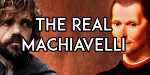 Juego de Tronos, Maquiavelo y el renacimiento italiano