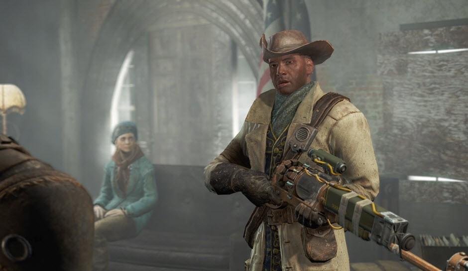 Los minutemen y el comunismo izquierdista en Fallout 4 - David Harvey