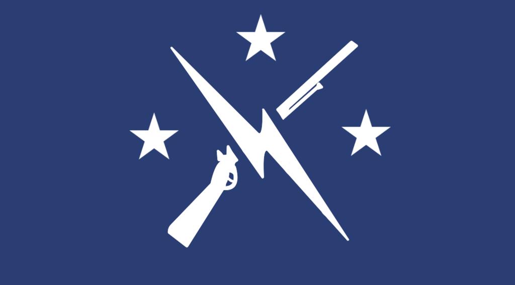 Los minutemen y el anarquismo izquierdista en Fallout 4 - bandera minutemen
