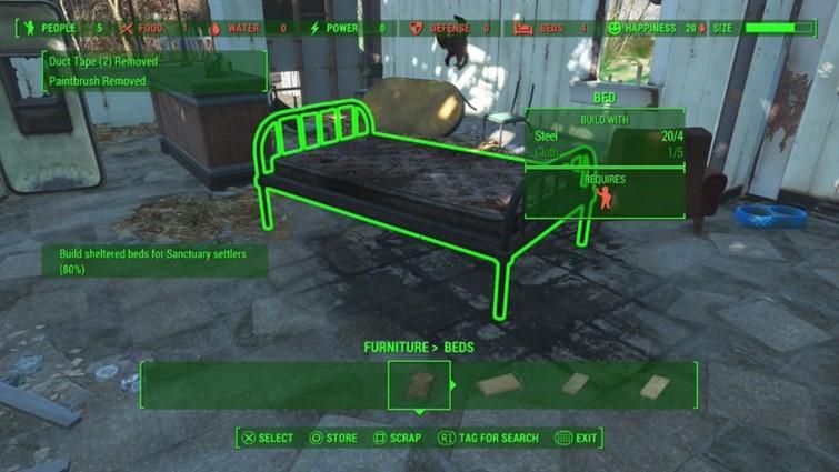 Los minutemen y el anarquismo izquierdista en Fallout 4 - asentamiento