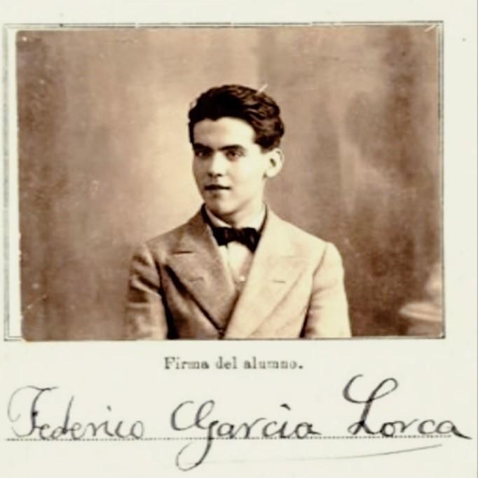 Eso es politica, Dellafuente. Retrato de Federico García Lorca