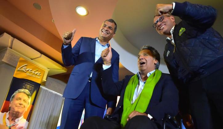 Rafael Correa y Lenín Moreno, ahora en lucha por Ecuador