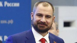 Maxim Suraikin, candidato de Comunistas de Rusia en las elecciones presidenciales en Rusia de 2018