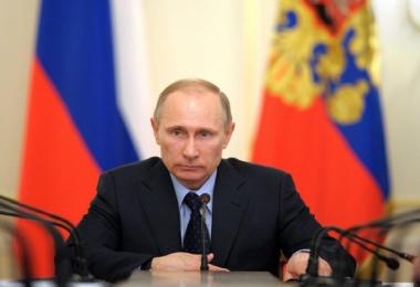 Putin, candidato a las elecciones presidenciales en Rusia de 2018