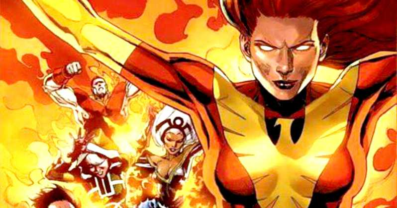 Comic de X-Men con Jean Grey en la portada