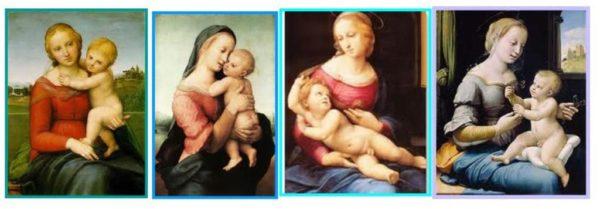 Las Madonnas de Rafael. Foto del Blog de Julio Zarco