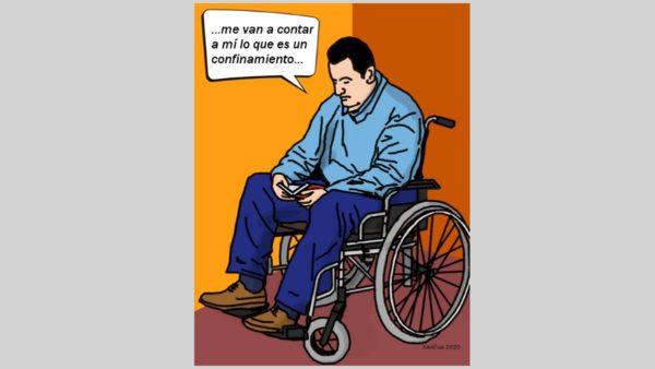 sociedad discapacitada durante confinamiento