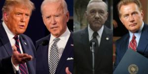 Trump, Biden, Underwood y Bartlet