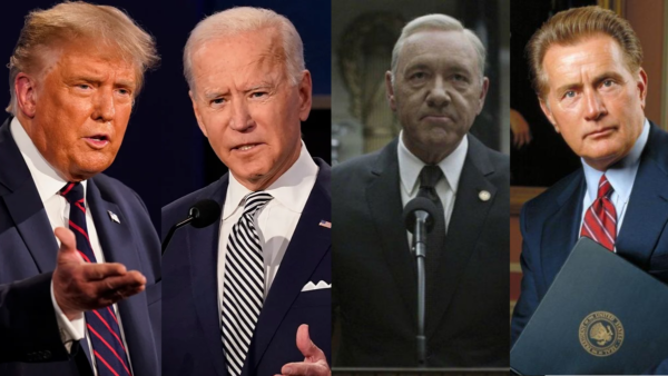 Trump, Biden, Underwood y Bartlet